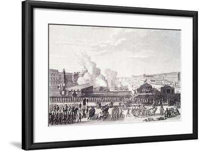 Declaration of Country in Danger During French Revolution France--Framed Giclee Print