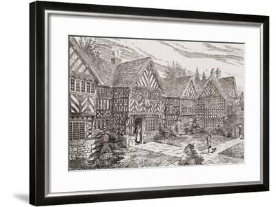 16th Century Kenyon Peel Hall, Near Tyldesley, Manchester, England--Framed Giclee Print