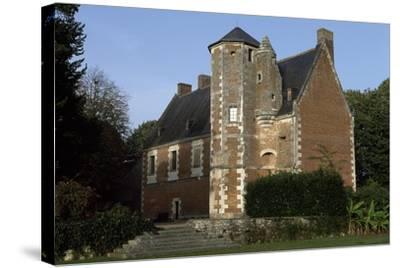 View of Chateau De Plessis-Les-Tours, in La Riche, France--Stretched Canvas Print