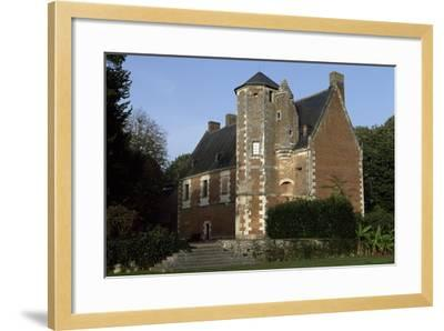 View of Chateau De Plessis-Les-Tours, in La Riche, France--Framed Giclee Print