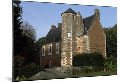 View of Chateau De Plessis-Les-Tours, in La Riche, France--Mounted Giclee Print