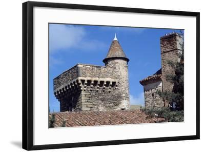 Keep of Lespinasse Castle, Near Saint-Beauzire, Auvergne, Detail, France--Framed Giclee Print