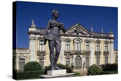 18th Century Queluz Palace, Queluz, Portugal--Stretched Canvas Print
