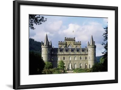 Exterior of Inveraray Castle, Argyll, Scotland--Framed Giclee Print