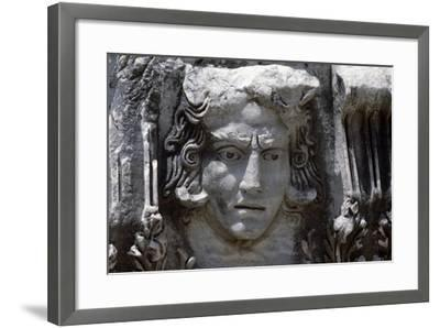 Sculptural Frieze Discovered in Side, Near Selimiye, Turkey--Framed Giclee Print