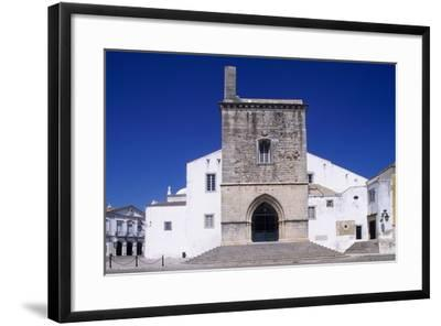 Faro Cathedral with Gothic Foundations and Renaissance Interior--Framed Giclee Print