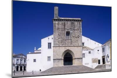 Faro Cathedral with Gothic Foundations and Renaissance Interior--Mounted Giclee Print