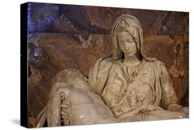 The Pieta--Stretched Canvas Print