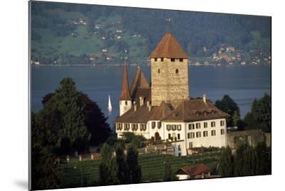 Spiez Castle, Canton of Bern, Switzerland, 12th-17th Centuries--Mounted Giclee Print