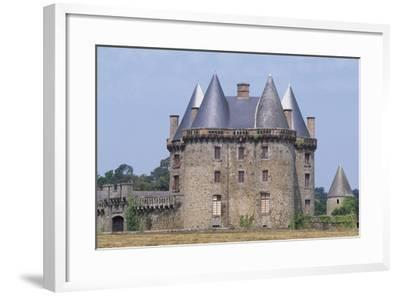 View of Chateau De Landal, Broualan, Brittany, France 15th-19th Century--Framed Giclee Print