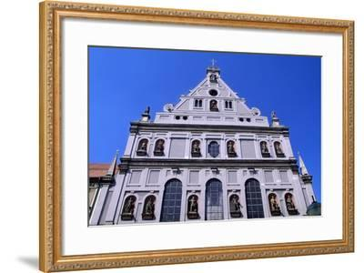 Facade of Church of Saint Michele, 1583-1597, Munich. Detail. Germany, 16th Century.--Framed Giclee Print