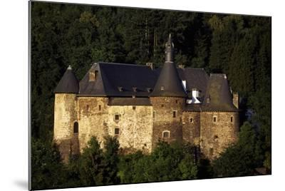12th Century Feudal Castle in Clervaux, Luxembourg--Mounted Giclee Print