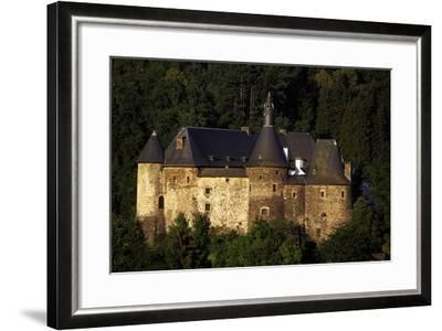 12th Century Feudal Castle in Clervaux, Luxembourg--Framed Giclee Print