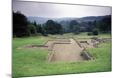 Ruins of the Great Witcombe Roman Villa, Gloucestershire, England, United Kingdom--Mounted Giclee Print