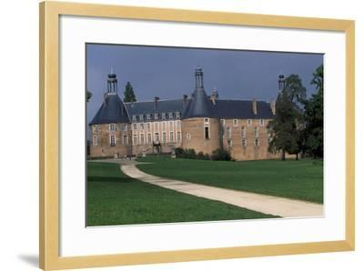 View of Castle of Saint-Fargeau, Burgundy, France, 15th-17th Century--Framed Giclee Print