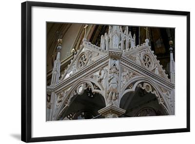 Details of the Ciborium--Framed Giclee Print