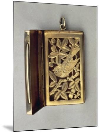 Vinaigrette, Silver Fragrance Tin with Vegetable and Zoomorphic Decoration--Mounted Giclee Print