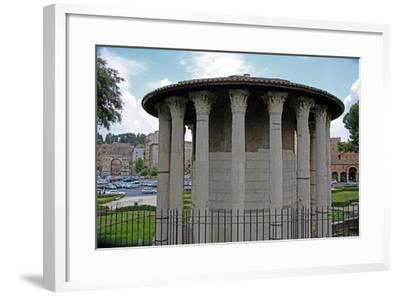 The Temple Ercole Vincitore--Framed Giclee Print