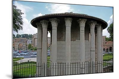 The Temple Ercole Vincitore--Mounted Giclee Print