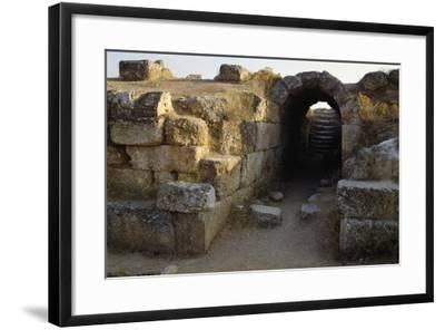 Staircase and Archway, Theatre of Eretria, Greece.--Framed Giclee Print