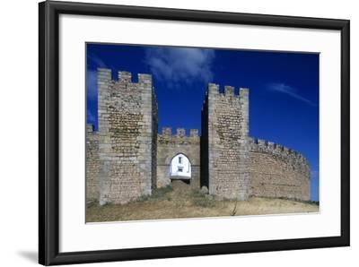 Detail of the Masonry of Arraiolos Castle, 16th Century, Portugal--Framed Giclee Print
