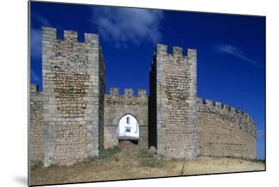Detail of the Masonry of Arraiolos Castle, 16th Century, Portugal--Mounted Giclee Print