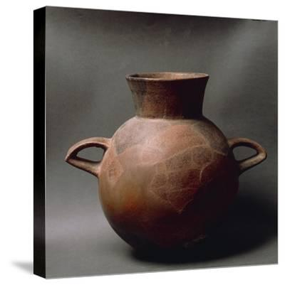 Two-Handled Fictile Amphora, from Sardinia Region--Stretched Canvas Print