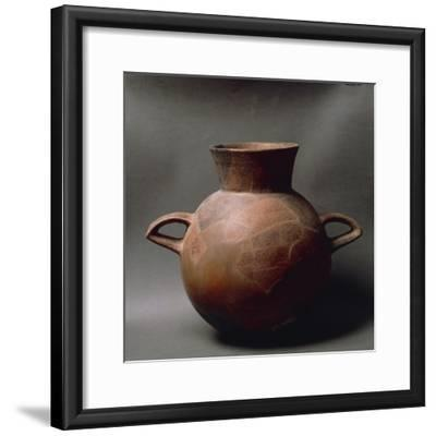 Two-Handled Fictile Amphora, from Sardinia Region--Framed Giclee Print