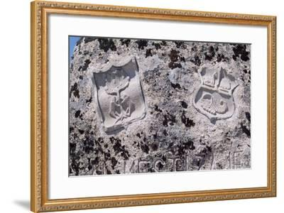 Spain, Castile and Leon, Mombeltran, Castle of the Dukes of Albuquerque--Framed Giclee Print