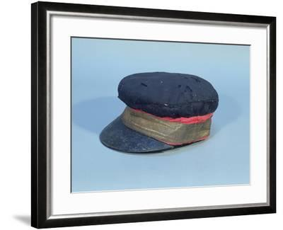 Cap with a Gold Band Worn by David Livingstone--Framed Giclee Print