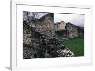 Ruins of Roman Houses, Ancient Roman City of Saepinum, Sepino, Molise, Italy--Framed Giclee Print
