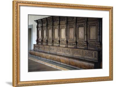 Carved Wooden Stalls, 1534-1535--Framed Giclee Print