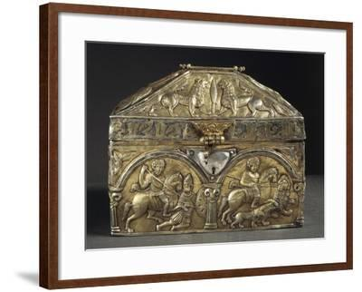 Embossed Silver Reliquary of Saint Stanislaus, 12th Century--Framed Giclee Print