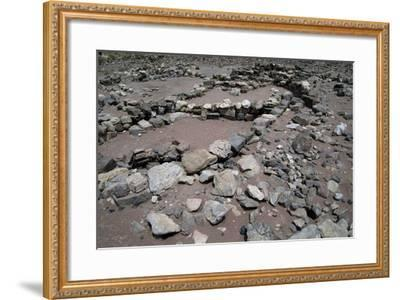 King Solomon's Mines, Timna National Park, Surroundings of Eilat, Israel--Framed Giclee Print