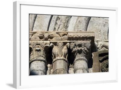 Capitals, Architectural Detail of Collegiate Church of Saints Quiricus and Julietta--Framed Giclee Print