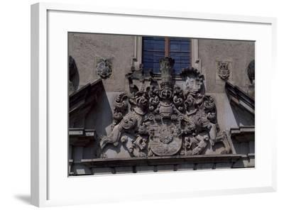 Architectural Detail from Bouzov Castle, Moravia, Czech Republic--Framed Giclee Print