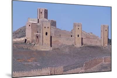 Spain, Castile-La Mancha, Molina De Aragon, Tower of Aragon and Castle of Molina De Aragon--Mounted Giclee Print