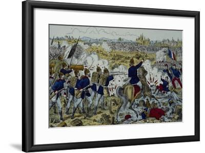 Battle of Gravelotte, August 18, 1870--Framed Giclee Print