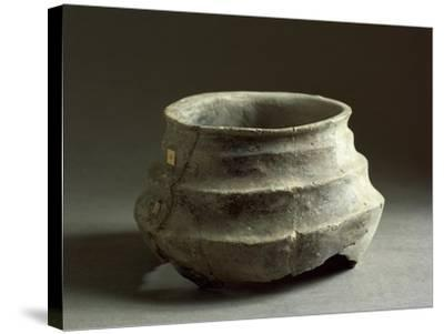 Prehistoric Bowl, from Emilia Romagna Region, Italy--Stretched Canvas Print