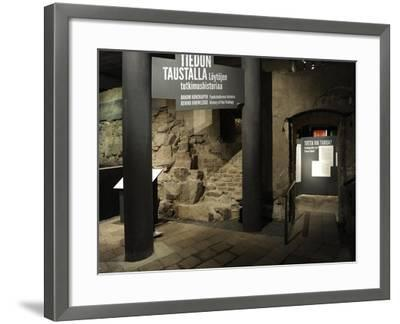 Aboa Vetus and Ars Nova, Aboa Vetus, Remains of Six Medieval Buildings, Finland--Framed Giclee Print