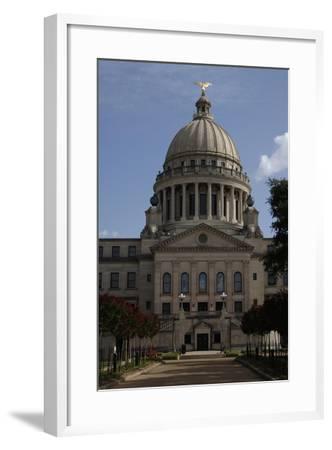 Jackson, Mississippi State Capitol, State of Mississipi, USA--Framed Giclee Print