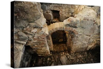 Aboa Vetus and Ars Nova, Aboa Vetus, Remains of Six Medieval Buildings, Finland--Stretched Canvas Print
