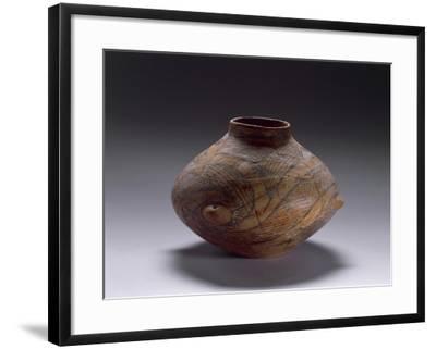 Biconical Ceramic Vase, from Kamniku, Albania--Framed Giclee Print