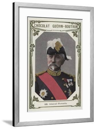 General Florentin--Framed Giclee Print