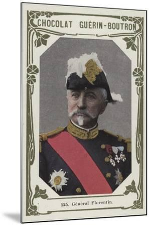 General Florentin--Mounted Giclee Print