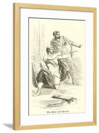 The Bow and Arrow--Framed Giclee Print
