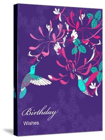 Honeysuckle Birthday, 2013-Anna Platts-Stretched Canvas Print