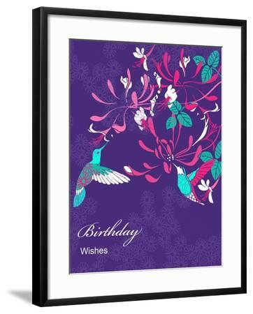 Honeysuckle Birthday, 2013-Anna Platts-Framed Giclee Print
