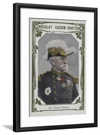 General Brault--Framed Giclee Print