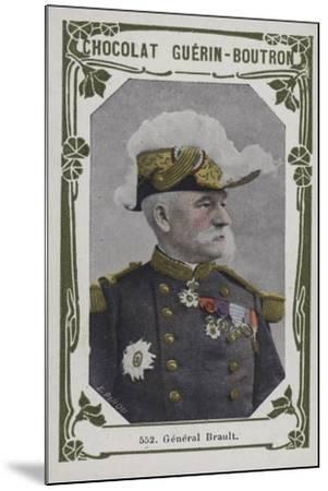 General Brault--Mounted Giclee Print